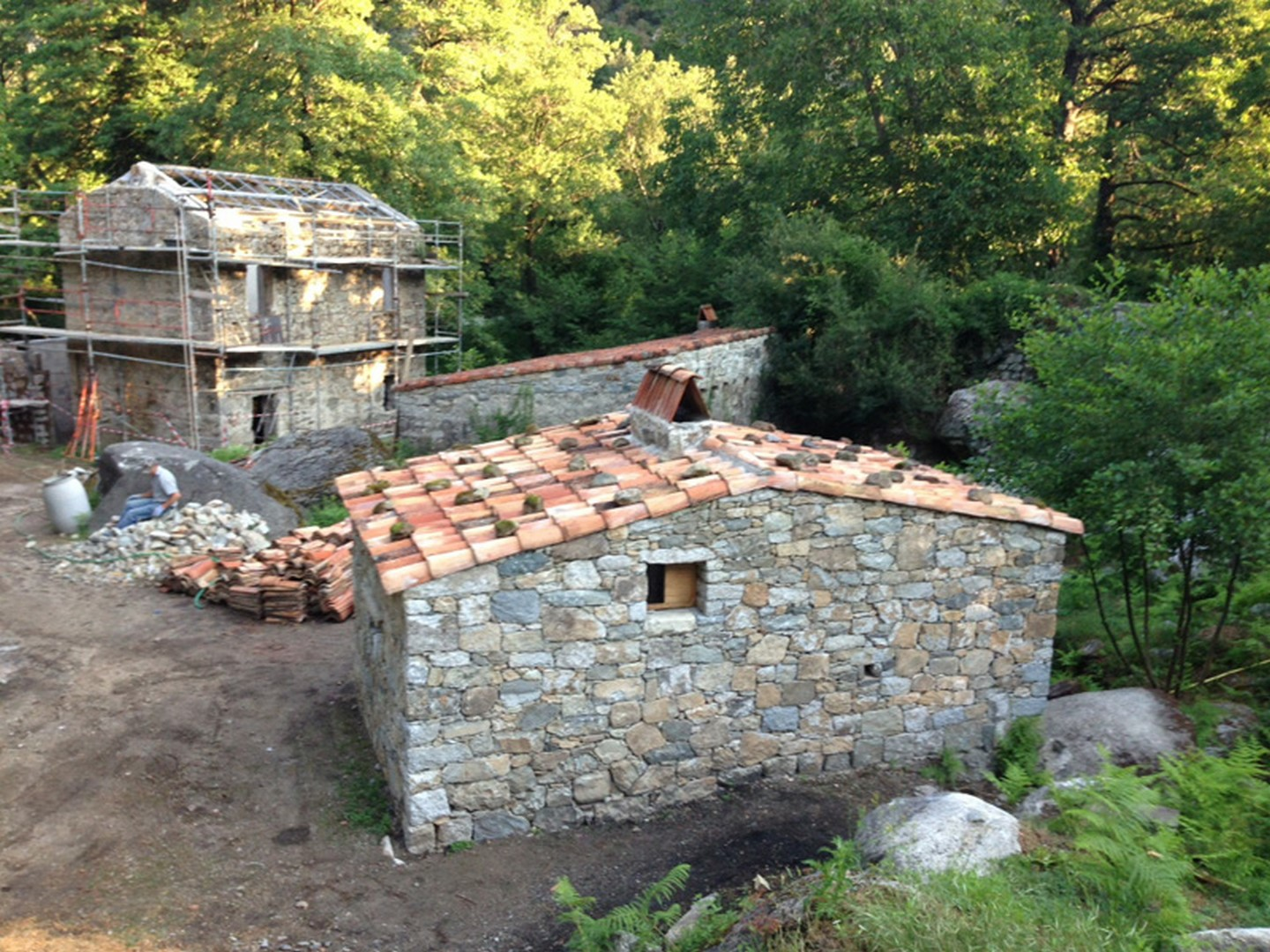 R novation et restauration du patrimoine bati pierres corse for Renovation maison pierre