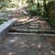 Canalisation en pierres sèches sur le sentier de Cuttoli