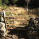 Portillon bois cataru pour clôture à Vero